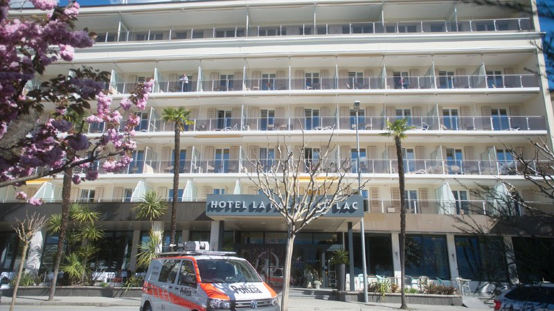 C'est dans cet hôtel à Muralto qu'a été retrouvé le corps d'une Anglaise de 22 ans en avril dernier.