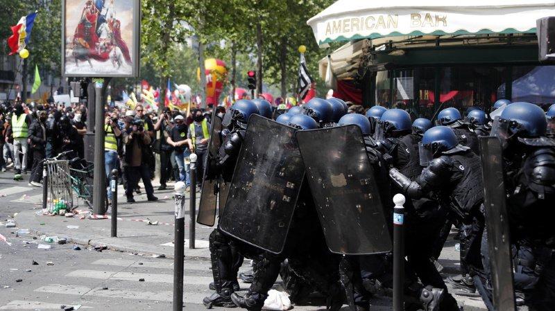 """Les autorités disent craindre un retour des violences, comme au plus fort du mouvement des """"gilets jaunes""""¨. (archives)"""