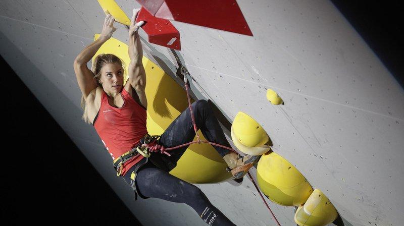 Escalade: la Zurichoise Petra Klingler décroche l'argent aux World Beach Games