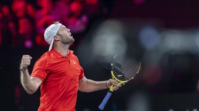 Tennis – Laver Cup: l'Américain Jack Sock, 210e mondiale, bat Fabio Fognini et égalise pour le Team World