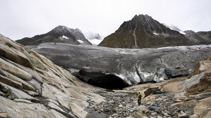 Selon des chercheurs de l'EPFZ, le glacier d'Aletsch aura totalement disparu d'ici 2100.