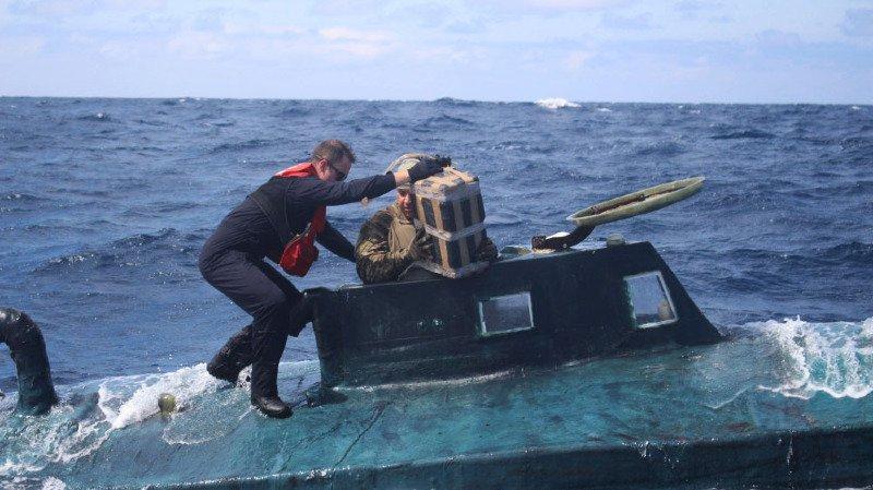 Etats-Unis: cinq tonnes de cocaïne saisies à bord d'un sous-marin artisanal