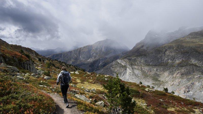 La randonnée est l'activité sportive préférée des Suisses. (illustration)