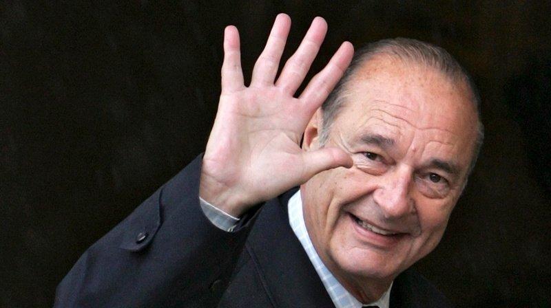 «Un grand homme d'Etat»: pluie d'hommages pour Jacques Chirac