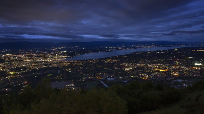 Le Grand Genève plongé dans le noir pour sensibiliser la population à la pollution lumineuse