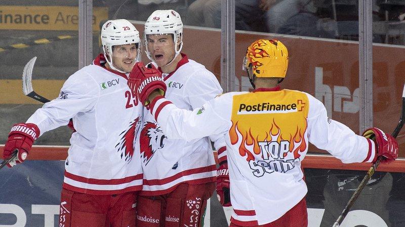 Hockey: belle victoire de Lausanne contre Berne, Genève leader et Bienne battu à Ambri