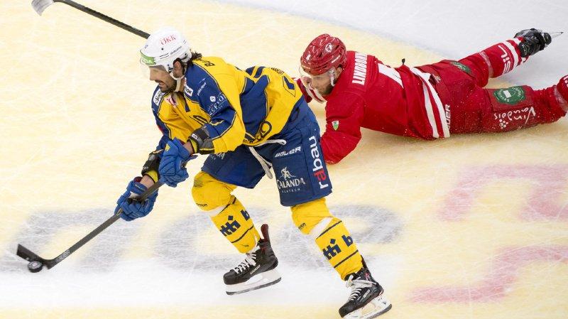 Hockey: Andres Ambühl entre dans le club fermé des joueurs aux 1000 matchs