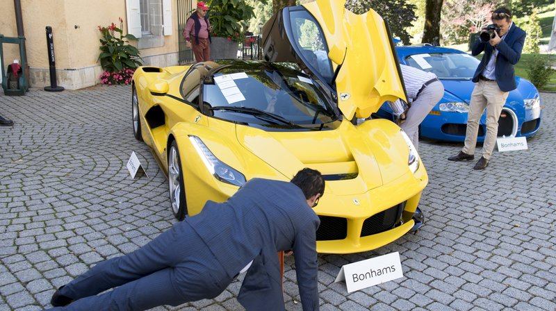 Vaud: 25 voitures de luxe du fils d'un dictateur africain vendues pour plus de 23 millions