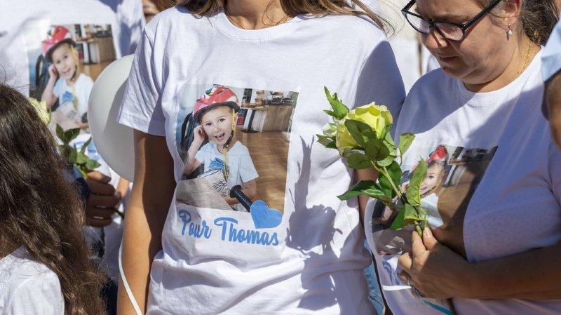 Dimanche, des centaines de personnes avaient défilé à Genève pour apporter leur soutien à la maman du petit Thomas.