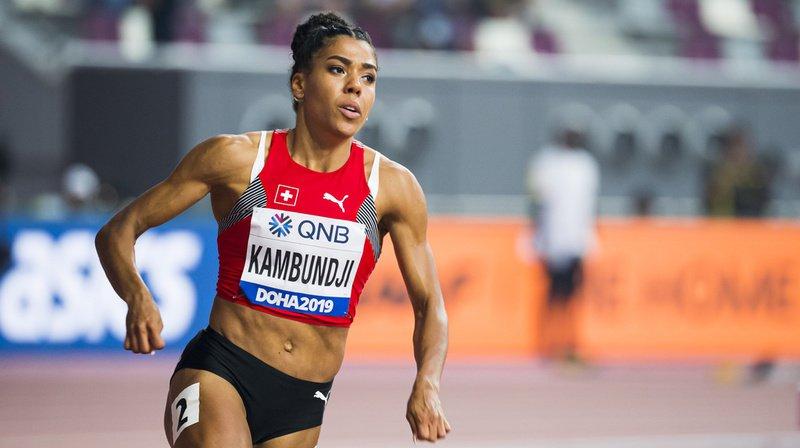 Mujinga Kambundji a écrit une page de l'athlétisme suisse à Doha.