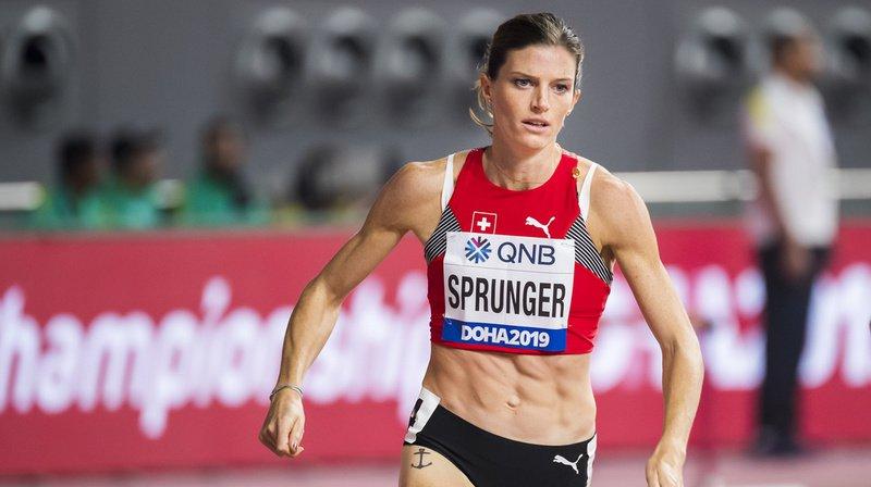 Athlétisme – Mondiaux de Doha: Lea Sprunger se hisse en finale du 400 m haies