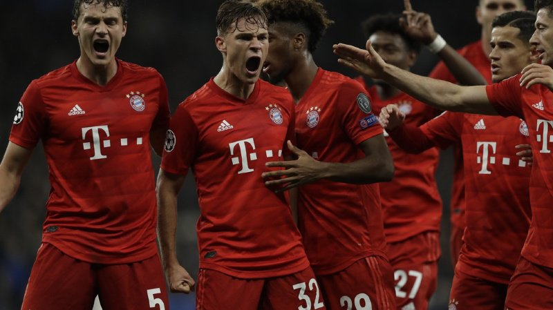 Football - Ligue des champions: le Bayern humilie Tottenham, le PSG largue le Real Madrid