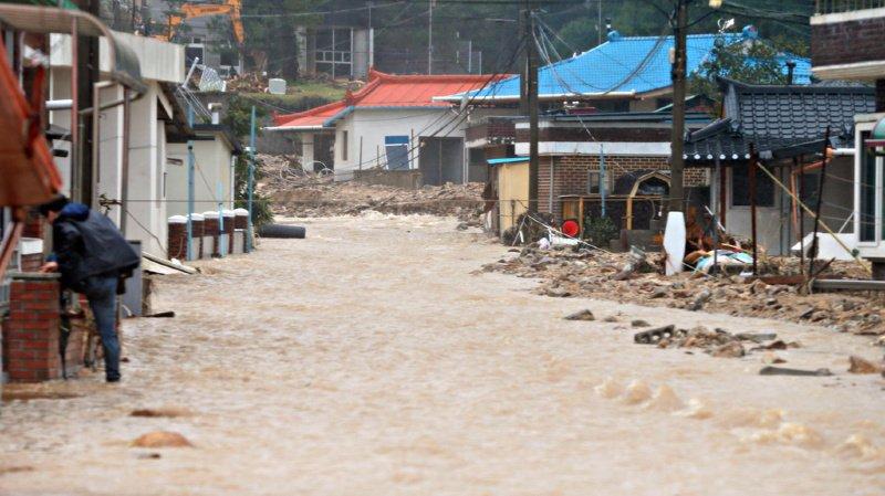 Corée du Sud: le typhon Mitag fait au moins 9 morts et plusieurs disparus