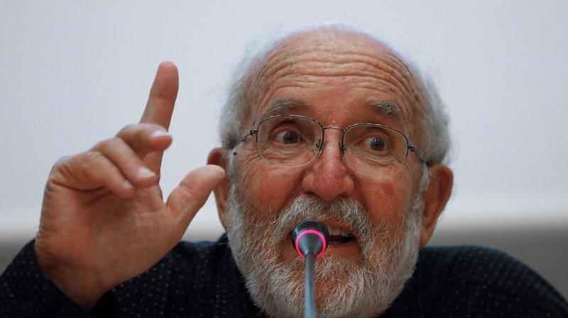 """Michel Mayor, Nobel de physique: """"l'homme ne migrera pas sur une exoplanète"""""""
