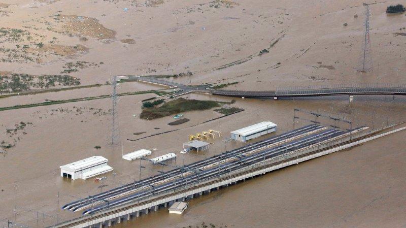 Japon: le typhon Hagibis fait au moins 56 morts, 110'000 secouristes déployés