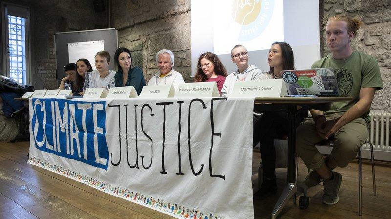 Climat: pour «Strike for Future», l'ensemble de la population suisse doit se mobiliser