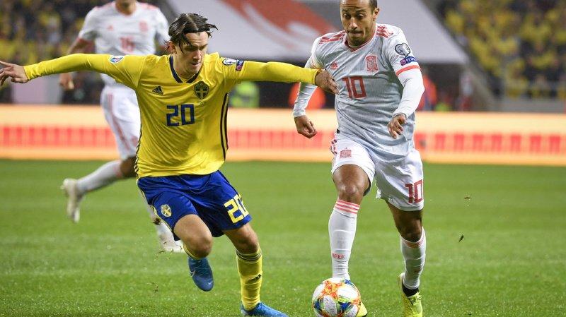 Football - Euro 2020: l'Espagne officiellement qualifiée