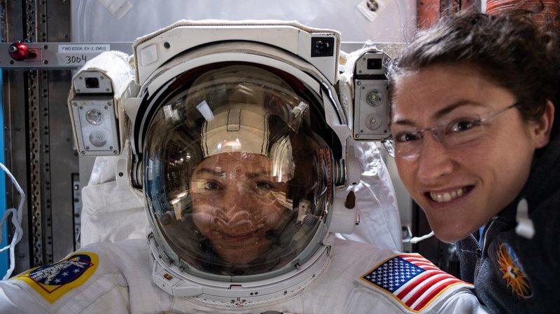 Les astronautes américaines Christina Koch et Jessica Meir ont marqué l'histoire spatiale. (Archives)