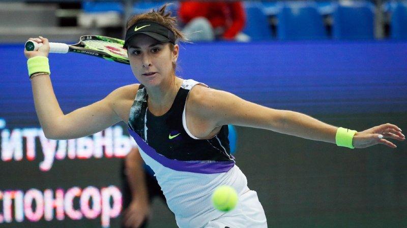 Belinda Bencic a éliminé la Belge Kristen Flipkens en quart de finale vendredi.