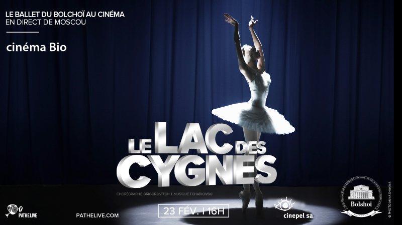 Ballet du Bolchoï :Le lac des Cygnes de Grigorovitch