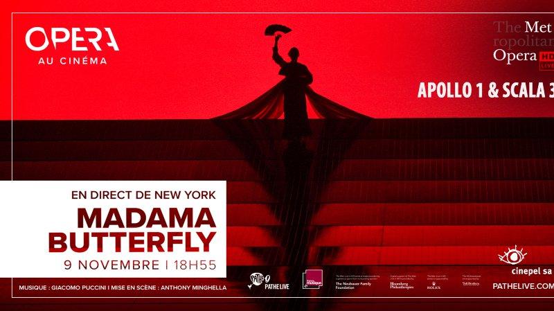 Opéra au cinéma : Mme Butterfly de Puccini