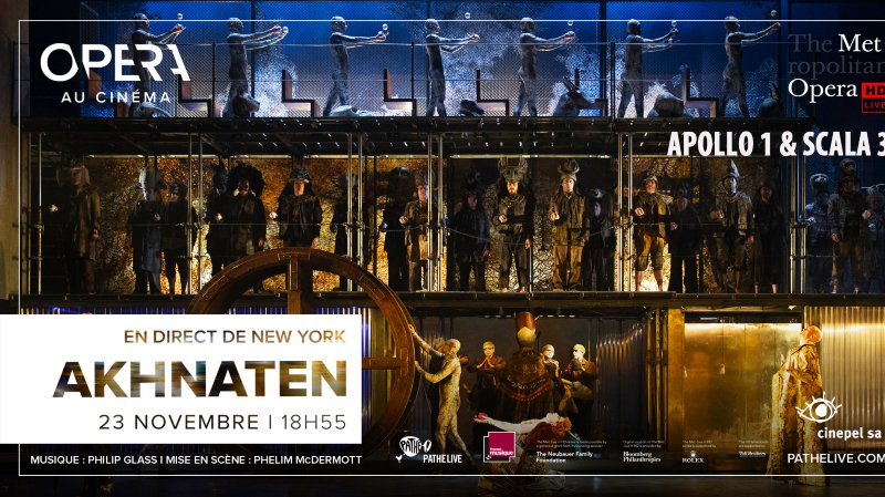 Opéra au cinéma : Akhnaten de Glass