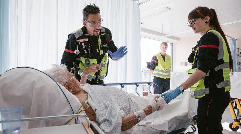 L'affluence augmente en moyenne de 5% par an dans les services d'urgences en Suisse.