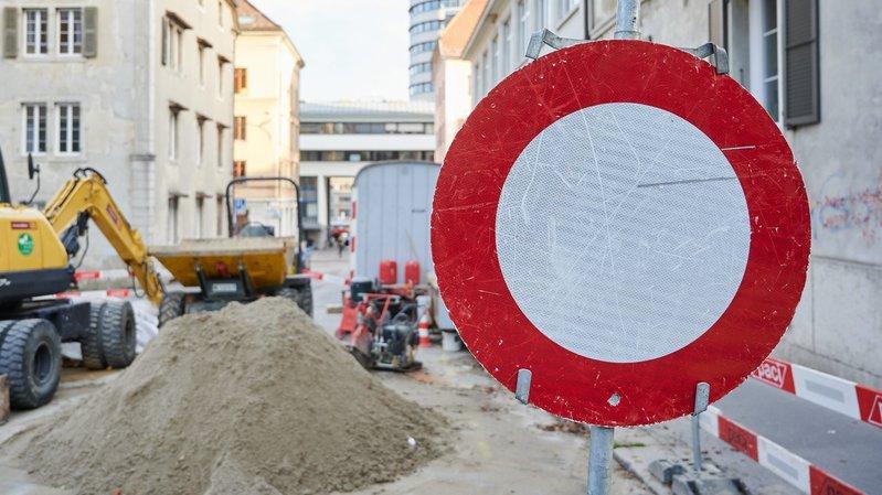 La Chaux-de-Fonds: bientôt la fin d'une longue saison de chantiers