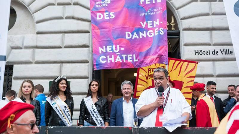 Ouverture de la 94e Fête des Vendanges, le 27 septembre 2019.