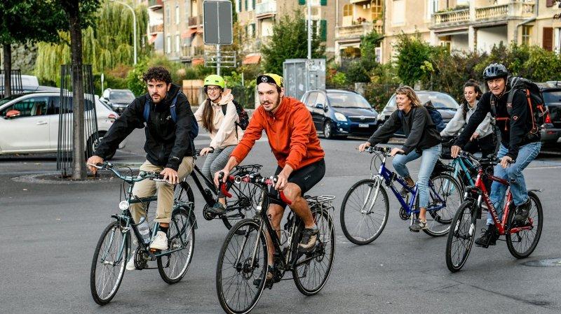 De Neuchâtel à Berne à vélo pour le climat