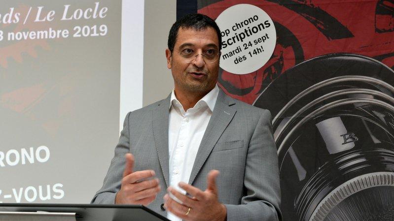 Giulio Papi, qui entre cette année dans le cercle des entreprises participant à la Biennale du patrimoine horloger.
