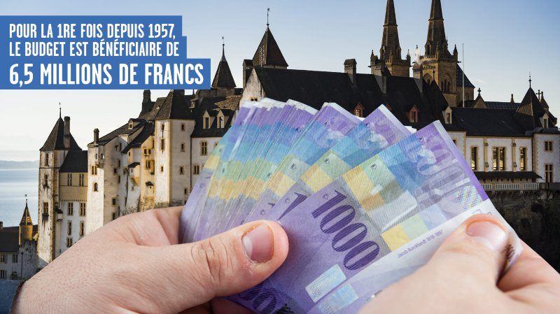 Budget: sortie du tunnel en vue pour le canton de Neuchâtel