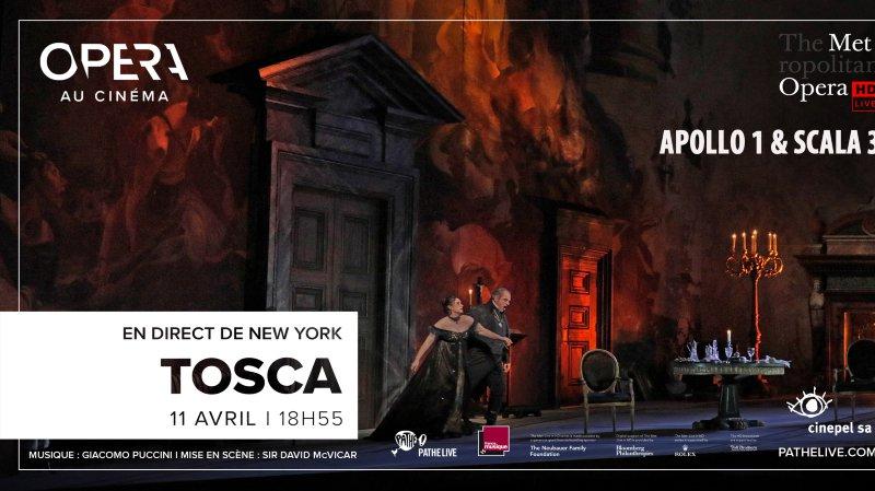 Opéra au cinéma : Tosca : de Puccini