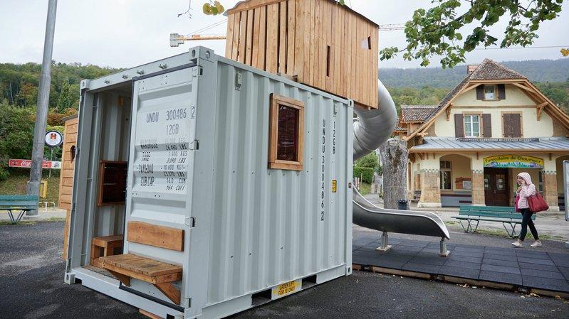 Neuchâtel: la cabane de jeux changera de place tous les six mois