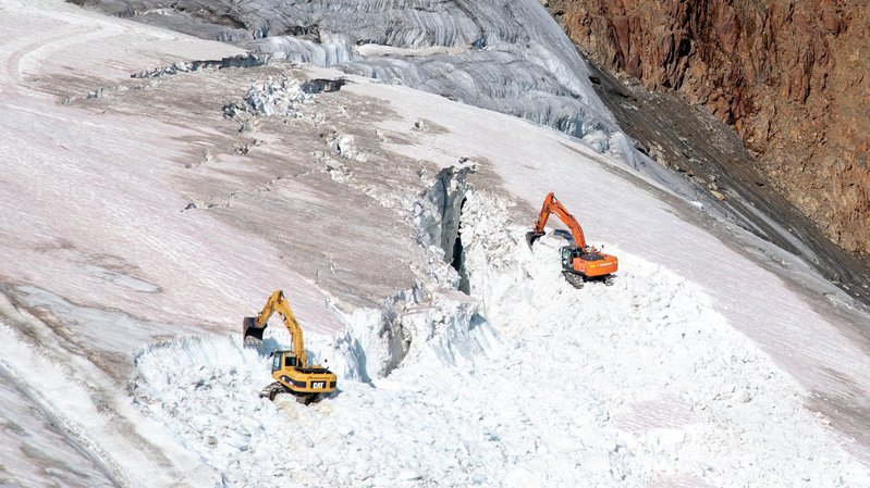 Environnement: une station autrichienne compte détruire un glacier pour créer des pistes de ski
