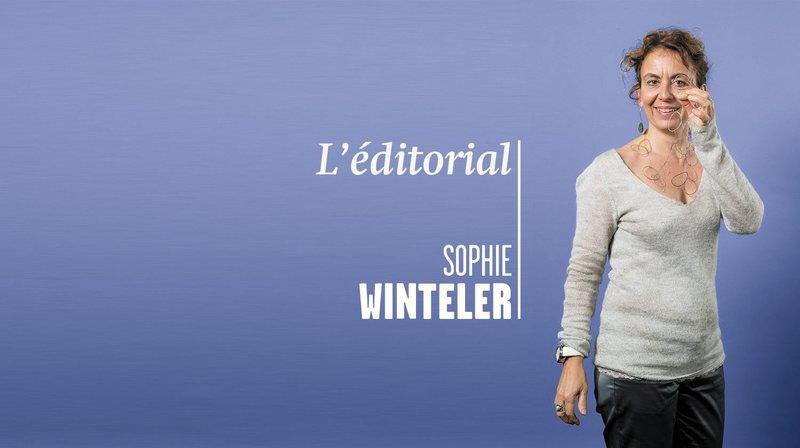 «Les Verts voient la vie en rose», l'éditorial de Sophie Winteler