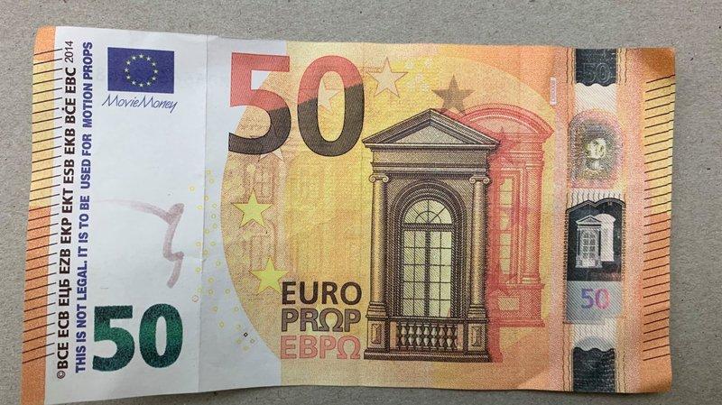 Les faux euros écoulés cette année portent le numéro MB6666888880.