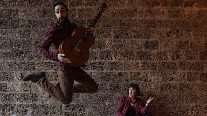 Le Duo Solea emmène le public dans un voyage latino.