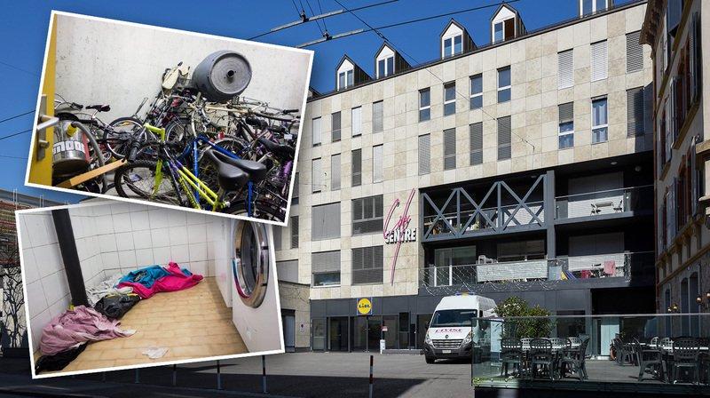 Neuchâtel: au cœur de City Centre, l'hygiène laisse pour le moins à désirer