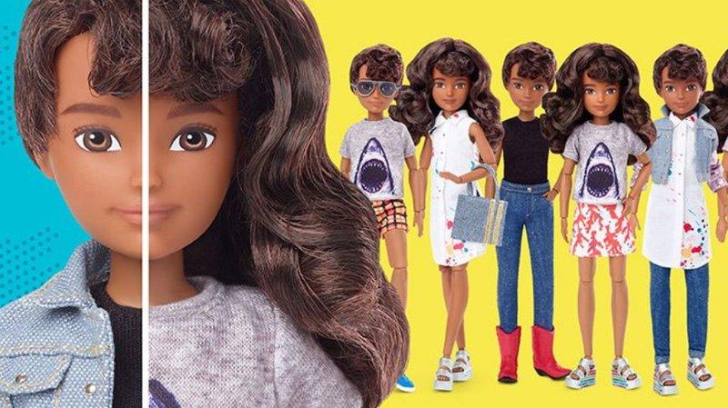 Une nouvelle ligne de figurines pour en finir avec les stéréotypes de genre.