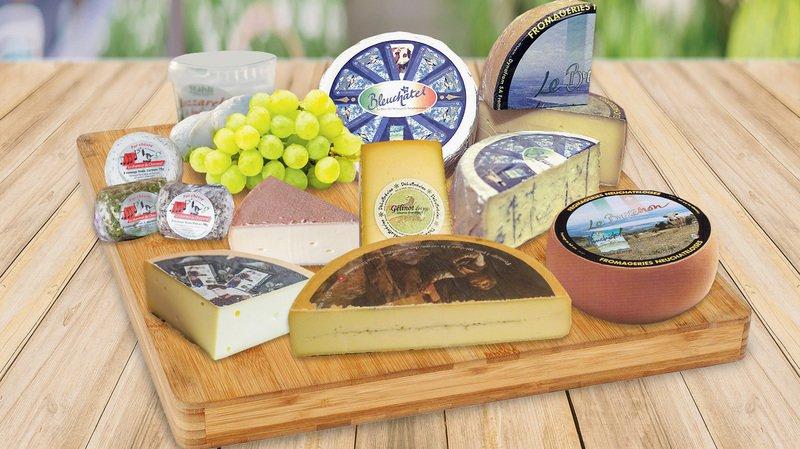 Ils sont très neuchâtelois, ces fromages!