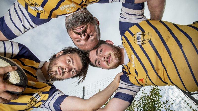 Rugby: un père et ses deux fils dans la mêlée du RC La Chaux-de-Fonds