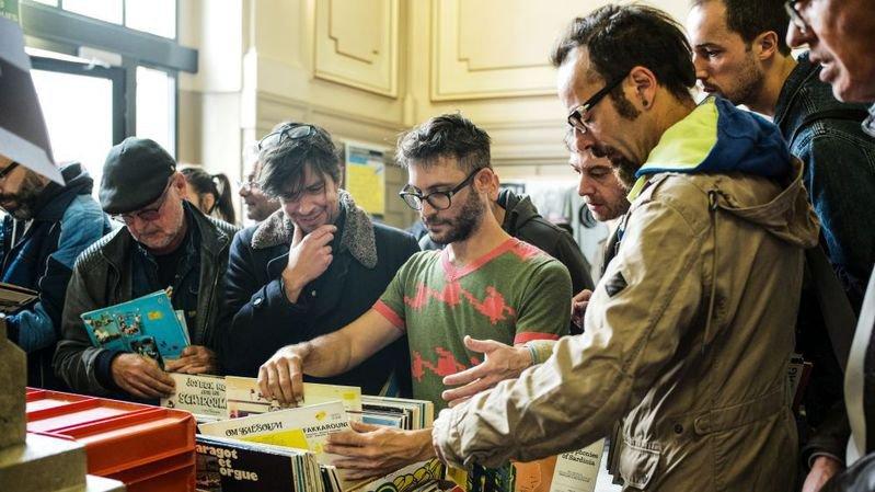 La Chaux-de-Fonds: la fête aux vinyles fait recette