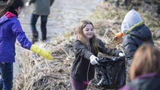 Appel aux volontaires pour poutzer les rives du Seyon