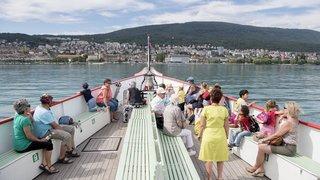 Bateau à vapeur «Neuchâtel»: généreux donateur honoré