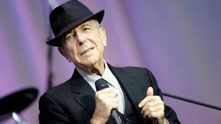 Musique: un album posthume de Leonard Cohen prévu pour le 22 novembre