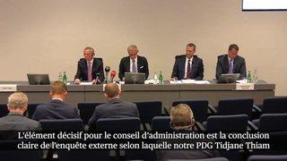 Affaire d'espionnage : le président de Credit Suisse s'excuse