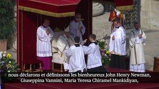 Le pape François a canonisé la Fribourgeoise Marguerite Bays