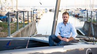 Robin Maeder survole les flots et les étapes