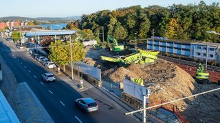 Neuchâtel: premiers coups de pioche aux Portes-Rouges